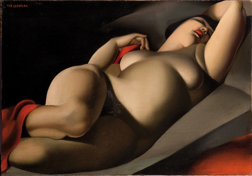 Tamara de Lempicka, La bella Rafaëla, 1927, © Sir Tim Rice ©Tamara Art Heritage / Museum Masters International NYC